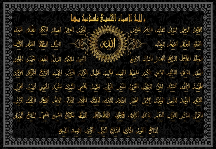 allah_names_with_english
